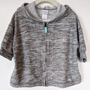 Oversized Zip Up Sweatshirt / Sweater